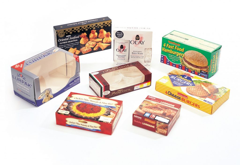 Continuous Two Flap Sealer Packaging