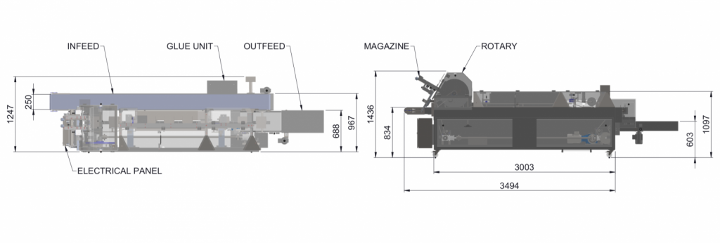 Header Card Applicator Diagram