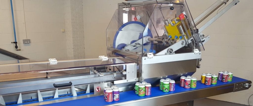 Semi Automatic Beverage Multipack Cartoner