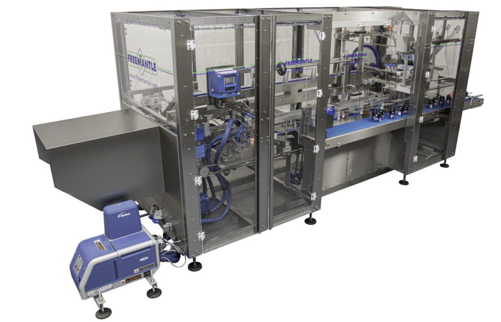 Semi Automatic Beverage Multipack Cartoner